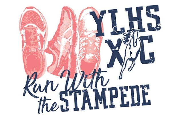 Run with the Stampede Logo